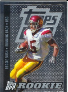 2006 Topps Draft Picks and Prospects Chrome Black #167 Reggie Bush   
