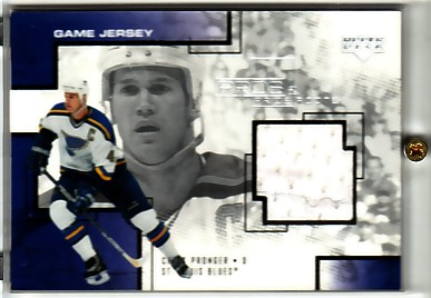 2000-01 UD Pros and Prospects Game Jerseys #CP Chris Pronger