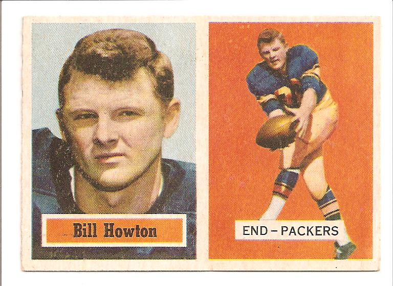 1957 Topps #33 Billy Howton
