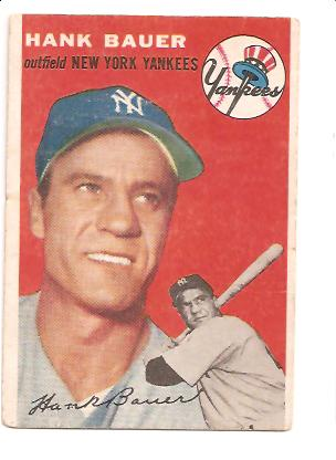 1954 Topps #130 Hank Bauer
