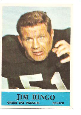 1964 Philadelphia #78 Jim Ringo