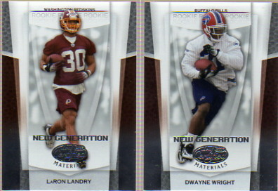 2007 Leaf Certified Materials #169 LaRon Landry RC