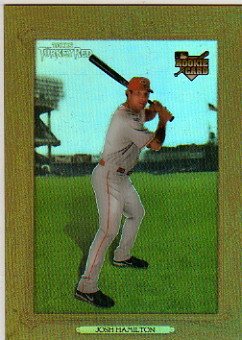 2007 Topps Turkey Red Chrome Refractors #55 Josh Hamilton