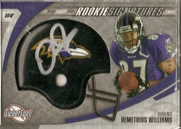 2006 Sweet Spot #238 Demetrius Williams AU/899 RC
