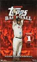 2008 Topps Series 1 Baseball Factory Sealed Hobby Box - Possible Autographs, Relic Cards ( Poss. Mickey Mantle & Alex Rodriguez ) & Possible Cut Signatures - In Stock Now