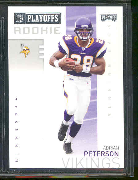 2007 Playoffs NFL Playoffs Preview #P2 Adrian Peterson