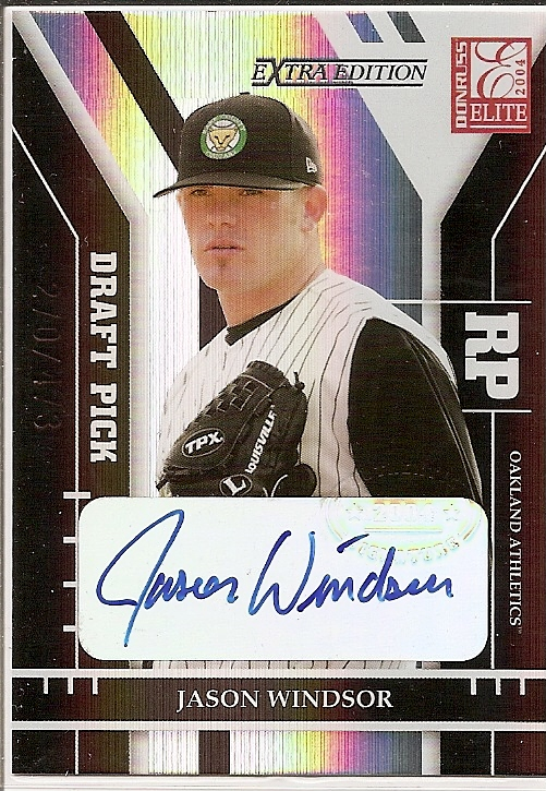 2004 Donruss Elite Extra Edition #348 Jason Windsor AU/473 RC