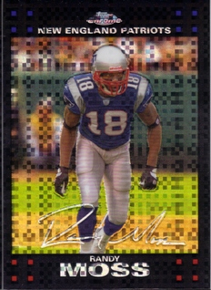2007 Topps Chrome Xfractors #TC28 Randy Moss