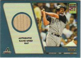 2001 Topps Traded Relics #MG1 Mark Grace Bat