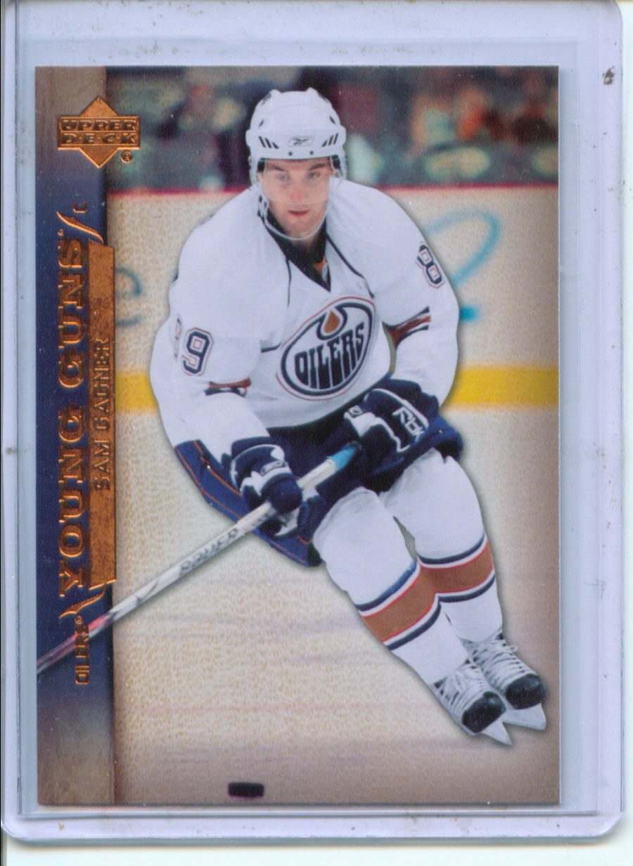 2007-08 Upper Deck #218 Sam Gagner RC
