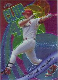 1999 Topps Chrome All-Etch #AE1 Mark McGwire
