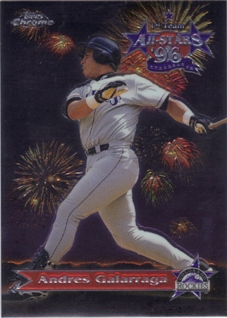 1997 Topps Chrome All-Stars #AS4 Andres Galarraga