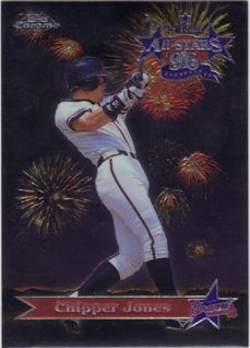 1997 Topps Chrome All-Stars #AS8 Chipper Jones