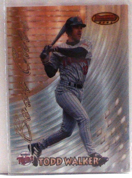 1997 Bowman's Best Best Cuts Refractor #BC19 Todd Walker