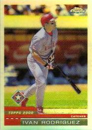 2000 Topps Chrome Refractors #64 Ivan Rodriguez