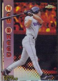 1999 Topps Chrome New Breed Refractors #NB7 Todd Helton