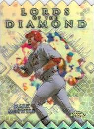 1999 Topps Chrome Lords of the Diamond Refractors #LD5 Mark McGwire