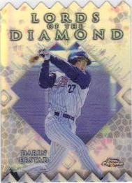 1999 Topps Chrome Lords of the Diamond Refractors #LD11 Darin Erstad