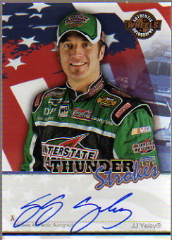 2007 Wheels American Thunder Thunder Strokes #44 J.J. Yeley