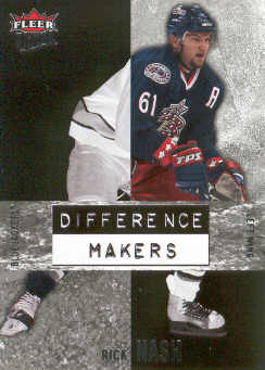 2007-08 Ultra Difference Makers #DM3 Rick Nash