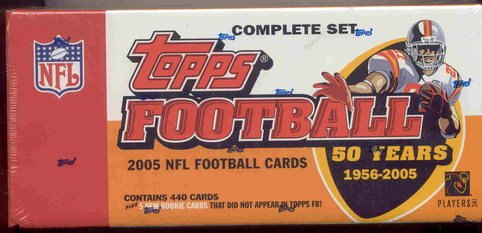 2005 Topps Factory Football Set with Braylon Edwards Rookie