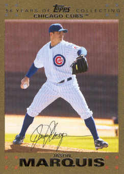 2007 Topps Update Gold #3 Jason Marquis