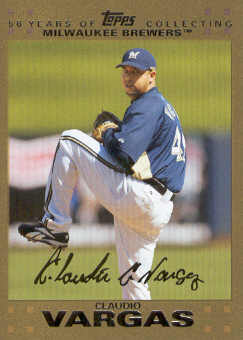2007 Topps Update Gold #69 Claudio Vargas