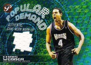 2002-03 Topps Pristine Popular Demand #PDCW Chris Webber
