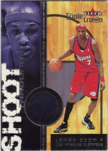 2000-01 Fleer Triple Crown Shoot Arounds #13 Lamar Odom