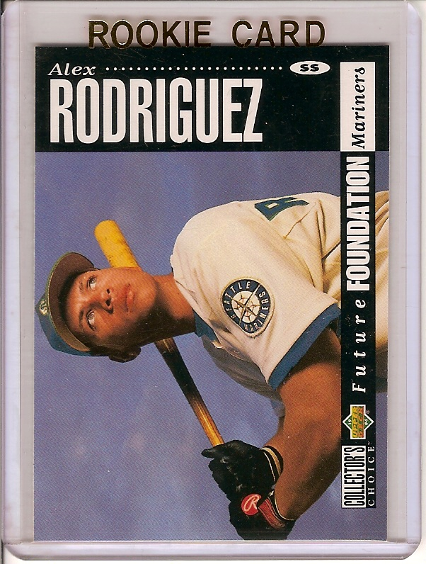 Alex Rodriguez 1994 Upper Deck Collector's Choice Rookie Card plus 15 more different Alex Rodirguez Cards!  A great lot with the RC plus 15 more cards!