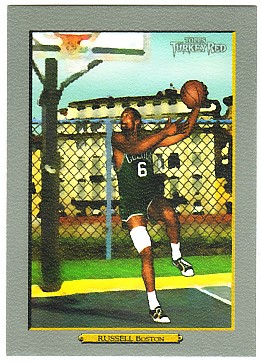 2006-07 Topps Turkey Red #235 Bill Russell
