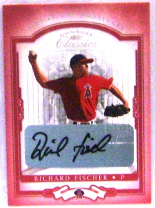 2004 Donruss Classics Significant Signatures Red #38 Richard Fischer/250