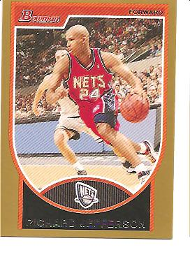 2007-08 Bowman Gold #94 Richard Jefferson