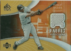 2005 Reflections Fabric Jersey #TE Miguel Tejada