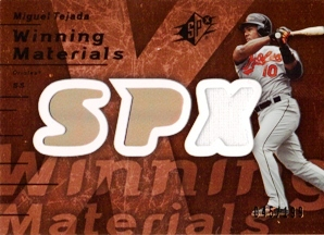 2007 SPx Winning Materials 199 Bronze #TE Miguel Tejada/199