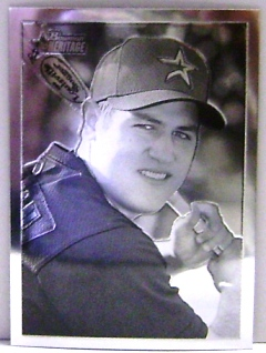 2001 Bowman Heritage Chrome #63 Lance Berkman