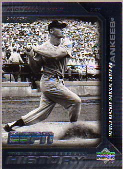 2005 Upper Deck ESPN This Day in Baseball History #BH6 Mickey Mantle
