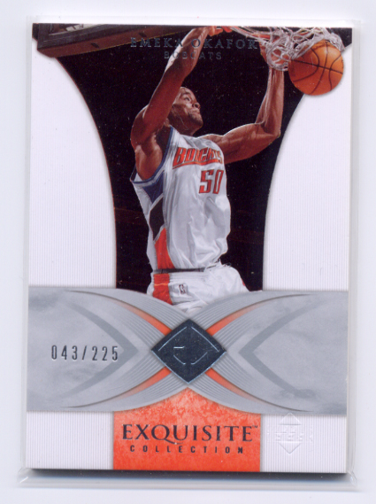 2006-07 Exquisite Collection #3 Emeka Okafor