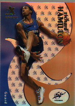 1999-00 E-X #66 Richard Hamilton RC