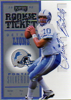 1998 Playoff Contenders Ticket #85 Charlie Batch AU/500*