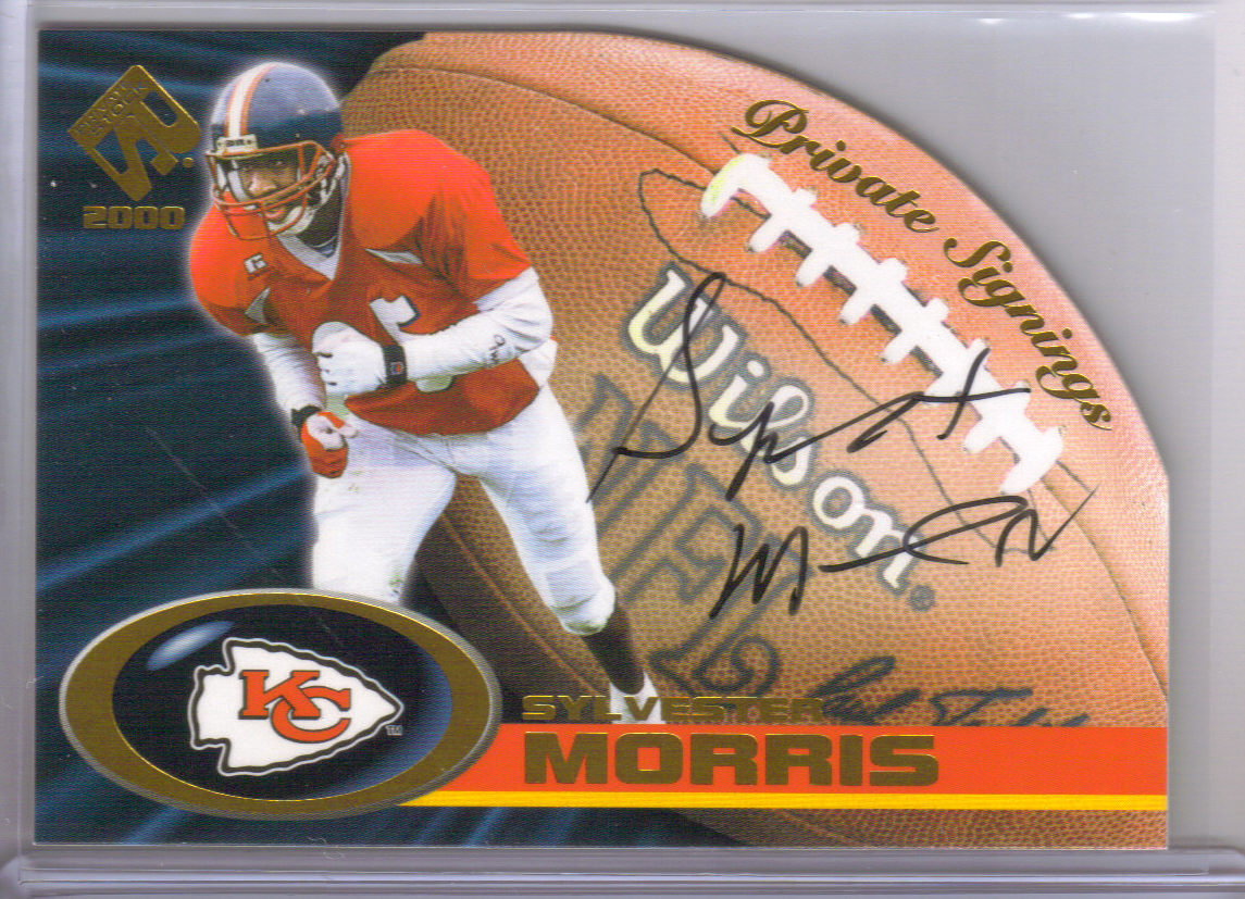 2000 Private Stock Private Signings #18 Sylvester Morris front image