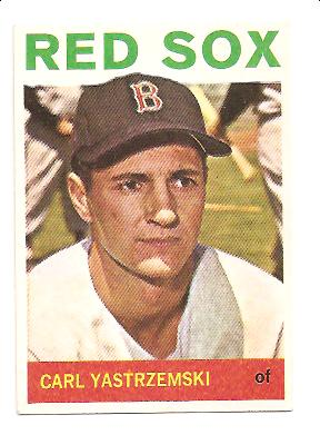 1964 Topps #210 Carl Yastrzemski front image