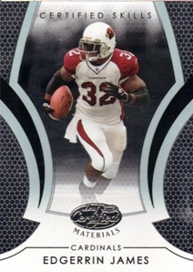2007 Leaf Certified Materials Certified Skills #11 Edgerrin James