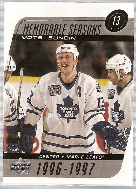 2002-03 Upper Deck #244 Mats Sundin MS