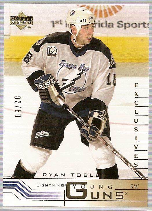 2001-02 Upper Deck Exclusives #440 Ryan Tobler