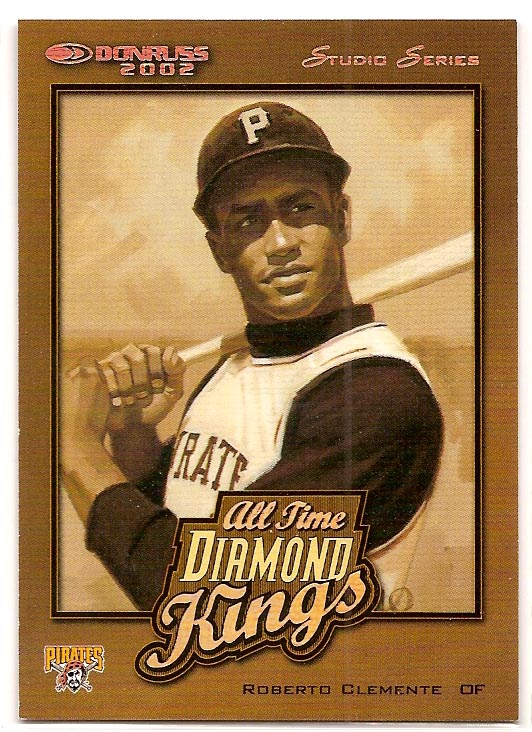 2002 Donruss All-Time Diamond Kings Studio Series #5 Roberto Clemente