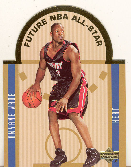 2003-04 Upper Deck SE Die Cut Future All-Stars #E11 Dwyane Wade