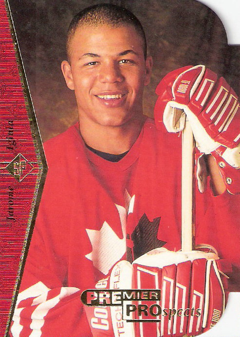 1994-95 SP Die Cuts #181 Jarome Iginla
