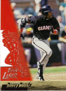 1996 Topps Laser #37 Barry Bonds