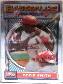 1993 Finest #28 Ozzie Smith